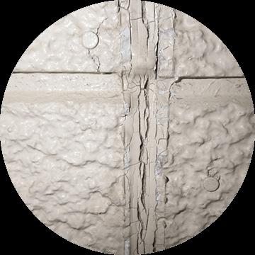経年劣化によるコーキング材の亀裂・破断
