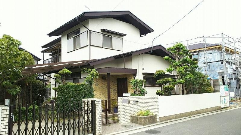 大阪府藤井寺市 屋根塗装・外壁塗装1 (2)