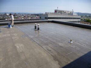 京都府京都市 マンション 外壁塗装・防水工事 (1)