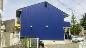 大阪府池田市 アパート 外壁塗装 (1)
