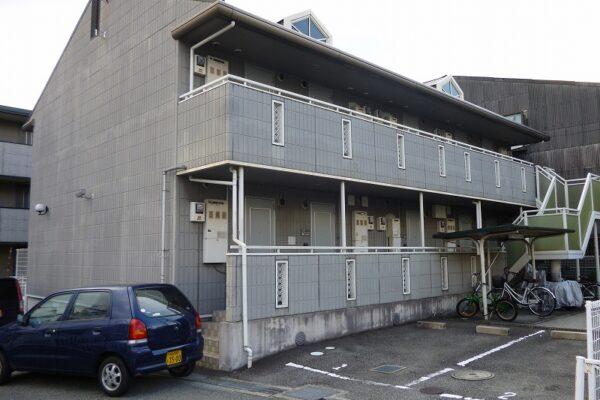 大阪府池田市 アパート 外壁塗装 (4)