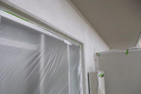 大阪府吹田市 マンション 窓枠塗装 (5)