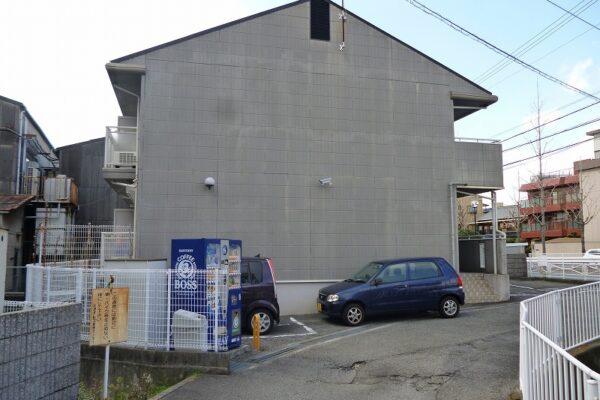 大阪府池田市 アパート 外壁塗装 (3)