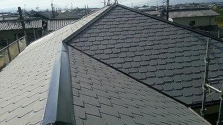 施工後:断熱遮熱塗装GAINA 2